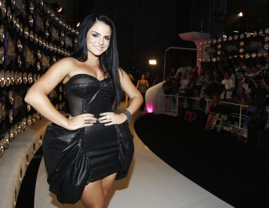 "Joanna ""JoJo'' Levesque arriving at the MTV Video Music Awards."