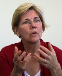 Elizabeth Warren is seen as the biggest name among possible rivals to Scott Brown.