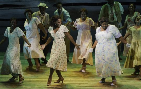 "Audra McDonald is front and center in the American Repertory Theater's production of ""Porgy and Bess.''"