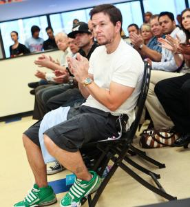 CHELSEA LAUREN/WIREIMAGE Mark Wahlberg attends a Boys & Girls Club event Wednesday in LA.
