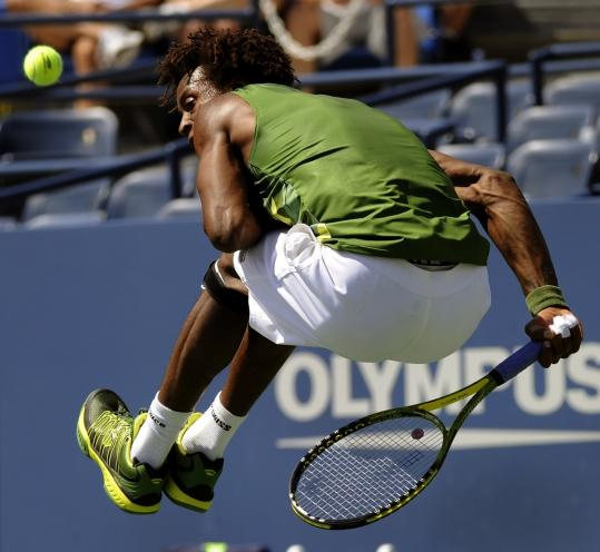 Gael Monfils Dive Gael Monfils Provided Many
