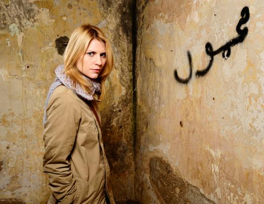 'Homeland' Claire Danes in Showtime's new POW thriller.