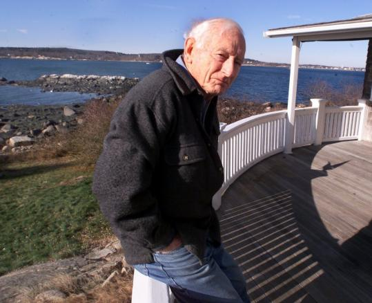Joe Garland wrote more than a dozen books about Gloucester and Cape Ann. He wrote his most expansive book, 'Unknown