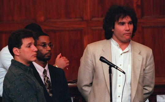 Matthew Stuart was arraigned on drug charges in 1997.