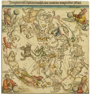 &#8220;Map of the Northern Celestial Hemisphere&#8217;&#8217; (1515), executed by Albrecht Durer and Johannes Stabius.