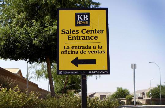 KB Home reported new demand for houses with two bedrooms with attached baths for parents who live with adult children.