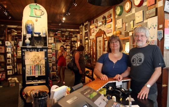 Yankee Ingenuity owners Sharon Hayes and Jon Vaughan said Labor Day weekend business was good.