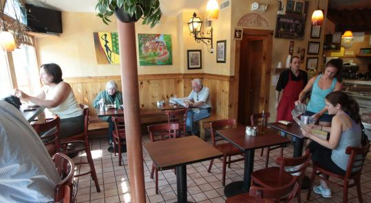 Bottega di Capri is an 18-seat homespun Italian restaurant close to the Brookline Village T stop.