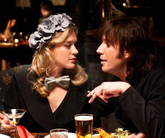 "Chloe Sevigny and Rhys Ifans as real-life drug smuggler Howard Marks in ""Mr. Nice.''"