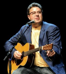 """You've got to get a little bit better, either with your songs or your playing or your singing,'' says Vince Gill (pictured in Los Angeles in 2010)."