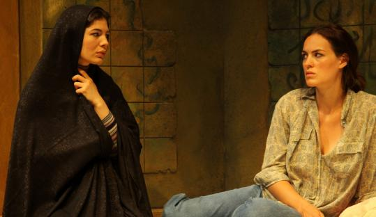 """Christina Pumariega and Beth Wittig in """"The Persian Quarter,'' a play by Kathleen Cahill."""