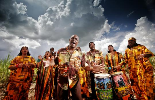 The Creole Choir of Cuba -- known back home as Grupo Vocal Desandann -- is made up of descendants of Haitian sugar cane workers. Their repertoire consists of Haitian roots and folk songs.