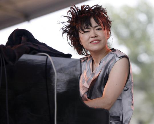 Pianist/keyboardist Hiromi brings the Trio Project to Scullers Oct. 14 and 15. Altoist Rudresh Mahanthappa presents his latest ensemble, Samdhi, at Regattabar Nov. 3.