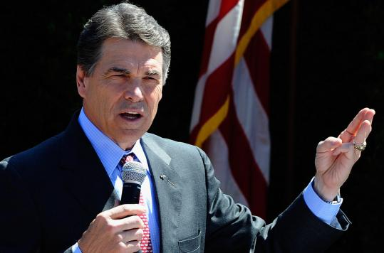 Governor Rick Perry's record on immigration is offering fodder for critics on the right who see immigration as one way to drive a wedge between the Texan and conservative primary voters.