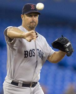 He's never put the chase for the milestone first, but Tim Wakefield has been stuck on 199 wins since July 24.