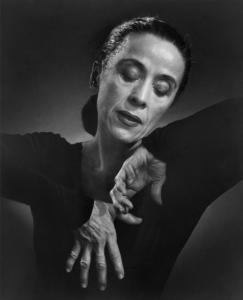 The donated photos include Yousef Karsh's original portrait of Martha Graham.