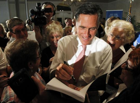 Mitt Romney and Governor Rick Perry of Texas have battled over Social Security on the campaign trail but Romney and his supporters have subtly shifted emphasis, arguing that Perry would fare worse against President Obama in the general election.