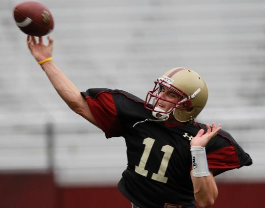 The BC offense has struggled in an 0-2 start, but Chase Rettig said that hasn't thrown him off.