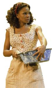 Tony Award winner Audra McDonald plays Bess.