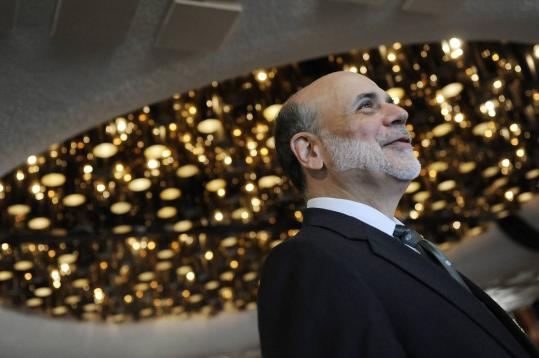 Fed chairman Ben Bernanke had pushed ahead with a plan to keep short-term interest rates near zero through mid-2013.