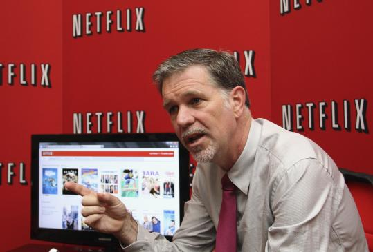 Reed Hastings, Netflix chief executive, announced the plan in a blog post Sunday night.