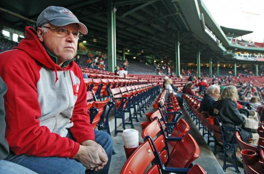"""You have to be positive,'' said Steve Puppo, 62, a Red Sox fan from Lynnfield."