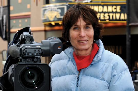 Documentary filmmaker Anne Makepeace.