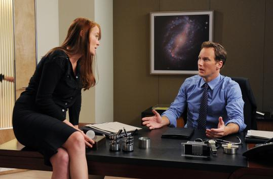 "Patrick Wilson stars as a neurosurgeon who gets visits from his deceased ex-wife, played by Jennifer Ehle, in the CBS drama ""A Gifted Man.''"
