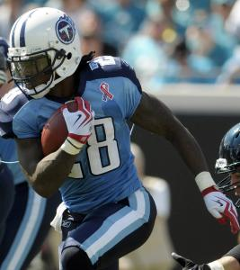 Tennessee's Chris Johnson is a fine running back in actual football, but in the fantasy realm, he's not carrying his weight.