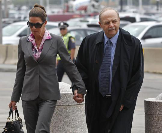 Former House speaker Salvatore F. DiMasi faces eight years in prison.