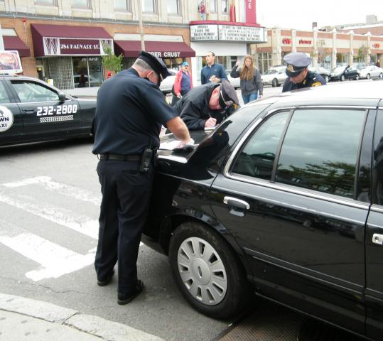 Brookline police have stepped up traffic-law enforcement efforts, especially in such busy areas as Coolidge Corner.