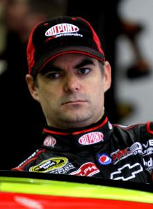 JEFF GORDON Led most laps