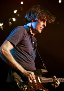 Stephen Malkmus (shown in New York last year) played a 75-minute set Saturday