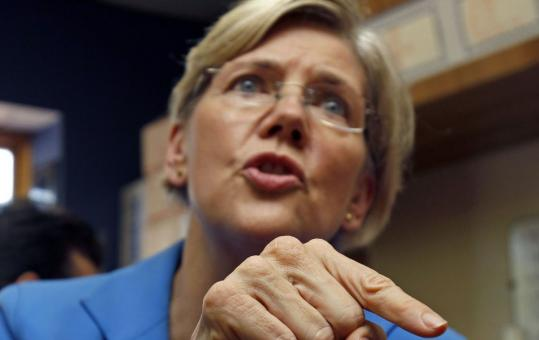 Elizabeth Warren's rant has gone viral.