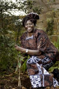 Dr. Wangari Maathai was head of the Green Belt Movement, which has planted more than 30 million trees in Africa.
