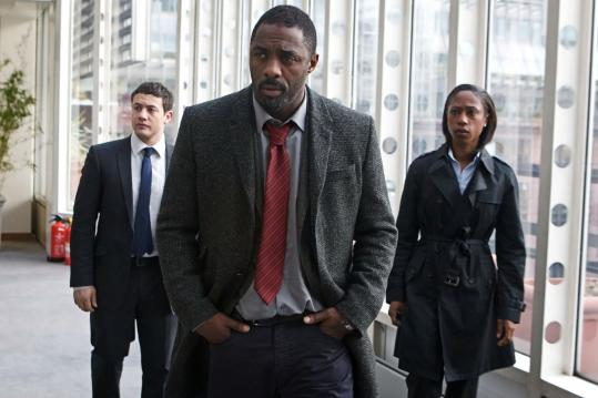 "Idris Elba stars as a detective with plenty of demons on BBC America's ""Luther.''"