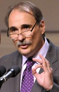 'This is going to be a titanic struggle,' said David Axelrod, an Obama campaign strategist, talking about the 2012 election.