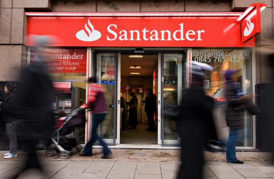 Santander, which has 14,600 branches around the world, is a household name in much of Europe and Latin America