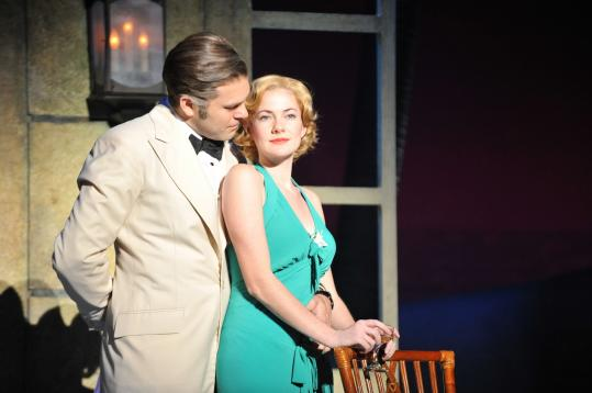 "Marcelo Guzzo and Katie Reid in ""Rodgers & Hammerstein's South Pacific.''"