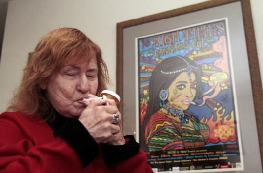 Elvy Musikka, 72, of Eugene, Ore., relies on marijuana to keep her glaucoma under control. A vocal marijuana advocate, she entered the program in 1988, and today is one of its four remaining patients.