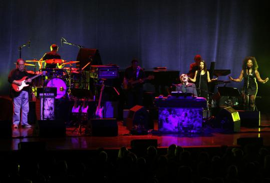 The iconic rock band Steely Dan performed in Boston Wednesday night as part of the Shuffle Diplomacy tour.