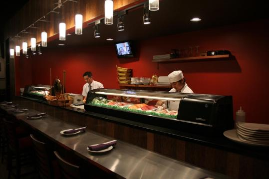 Tsang S Village Cafe In Hanover Includes An Immaculate Sushi Bar A Draw For Area