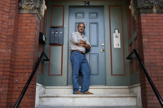 Michael Stella, a Dorchester developer, typically doesn't seek a loan until after a property is renovated.