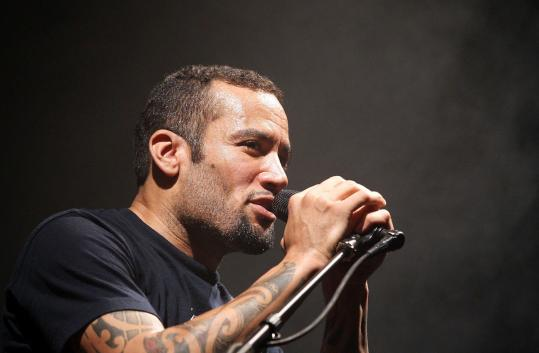 Ben Harper (seen here earlier this year in Australia) performed for nearly three hours Friday at the House of Blues.