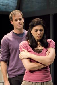 James Ludwig and Tara Franklin in Berkshire Theatre Group&#8217;s production of &#8220;Birthday Boy.&#8217;&#8217;