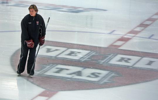 "The truth about coach Katey Stone is that ""It's not so much about the wins; it's about the culture'' when it comes to building up women's hockey at Harvard."