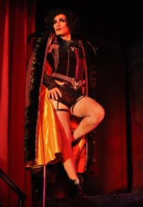 "Ryan Landry is excited to portray Dr. Frank N. Furter in ""The Rocky Horror Show.'' ""I know that it's gonna . . . kill,'' Landry said after a recent rehearsal."