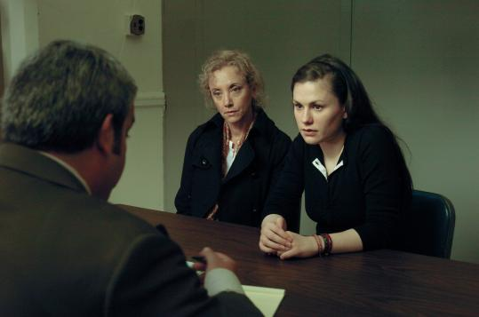 "J. Smith-Cameron (left) and Anna Paquin give powerful performances in Kenneth Lonergan's ""Margaret.''"