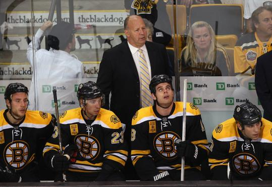 Claude Julien and his Bruins were looking to turn the page after last night's opening loss.