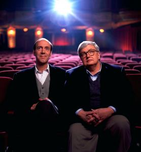 """Our chemistry was real, our opinions were important to us, we were deeply competitive, we knew what we were talking about,'' says Roger Ebert of ""At the Movies,'' which he cohosted with fellow movie critic Gene Siskel."